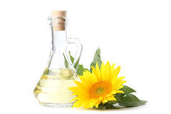 Sunflower oil Royalty Free Stock Photos