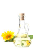 Sunflower oil Royalty Free Stock Image