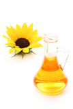 Sunflower oil Stock Photography