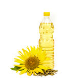 Sunflower oil. Royalty Free Stock Photography