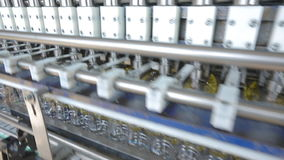 Sunflower Oil Factory, Manufacturing stock footage