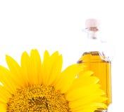 Sunflower oil. Stock Photo
