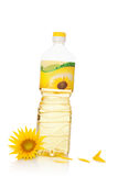 Sunflower oil. Royalty Free Stock Image