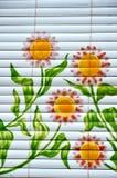 Sunflower painting Stock Photos