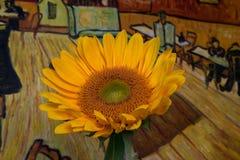 Sunflower Pool Hall Stock Photo