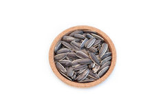 Sunflower seed in bowl Royalty Free Stock Photography