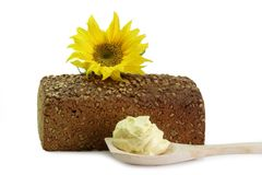 Sunflower-Seed-Bread Stock Image
