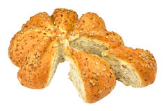 Sunflower Seed Covered Bread Loaf Royalty Free Stock Images