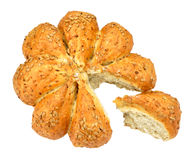 Sunflower Seed Covered Bread Loaf Stock Photography