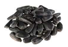 Sunflower seed detail Royalty Free Stock Photography