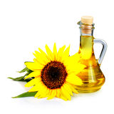 Sunflower seed oil Royalty Free Stock Photos