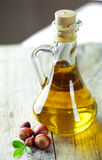 Sunflower-seed oil Royalty Free Stock Images