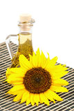 Sunflower seed oil Royalty Free Stock Photography