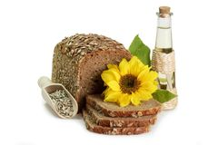 Sunflower Seed Products Stock Images