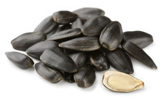 Sunflower seeds Stock Photos