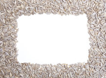 Sunflower Seeds Frame Royalty Free Stock Photo