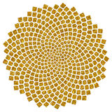 Sunflower Seeds - Golden Ratio - Golden Spiral - Fibonacci Spiral Royalty Free Stock Photos