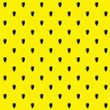 Sunflower seeds seamless pattern background. Stock Photo