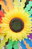Sunflower wheel Stock Photography