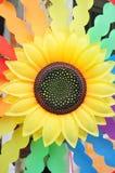 Sunflower wheel Stock Photography