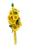 Sunflowers bouquet Stock Image