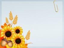 Sunflowers frame Royalty Free Stock Photos