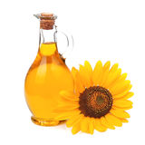 Sunflowers oil Stock Photography