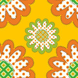 Sunflowers pattern Royalty Free Stock Image