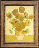 Sunflowers, Vincent van Gogh stock photography