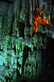 Sung Sot Cave 6. Sung Sot Cave Halong Bay Vietnam royalty free stock images