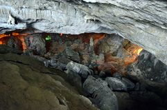 Sung Sot Cave 10. Sung Sot Cave Halong Bay Vietnam stock photo