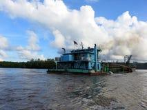 Sungai Lebam rzeka Zdjęcie Stock