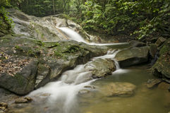 Sungai Liam, Hulu Yam Waterfall Stock Photo