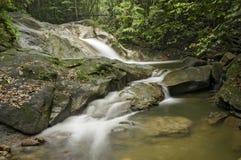 Sungai Liam, Hulu Yam Waterfall. Beautiful view of waterfall in the Malaysian jungle Stock Photo