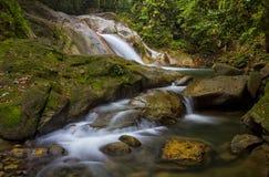 Sungai Liam waterfall stock images