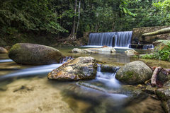 Sungai Liam waterfall Stock Image