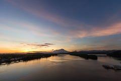 Sungai Mengkabong Стоковая Фотография