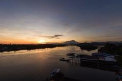 Sungai Mengkabong Стоковые Фотографии RF
