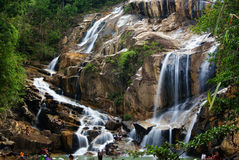 Sungai Pandan Waterfall Stock Image
