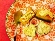 Sungkaya Pumpkin. Sweet delicious thai dessert Stock Photography