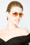 sungla πορτρέτου που φορά τις ν&e στοκ εικόνες με δικαίωμα ελεύθερης χρήσης