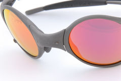 Sunglass. Cool Red sunglass great for UV protection Royalty Free Stock Photo