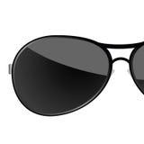 Sunglass black art vector illustration Stock Images