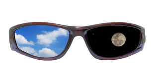 Sunglass day and night Royalty Free Stock Photography