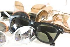 Sunglass do vintage no assoalho Imagem de Stock