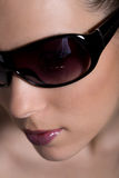 Sunglass girl Stock Image