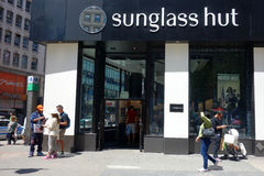 Sunglass-Hut Lizenzfreie Stockfotografie