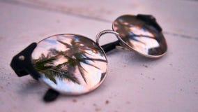 Sunglass Reflection Royalty Free Stock Photo