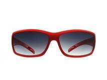 Sunglass rossi Immagini Stock