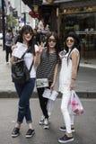 Sunglass siostry, Szanghaj Zdjęcia Royalty Free